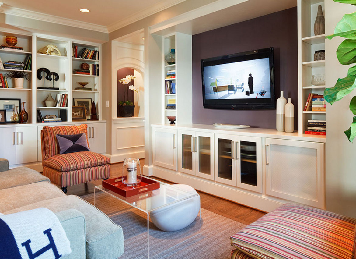 Living Room With Tv Ideas 25 wall mounted tv ideas for your viewing pleasure | home