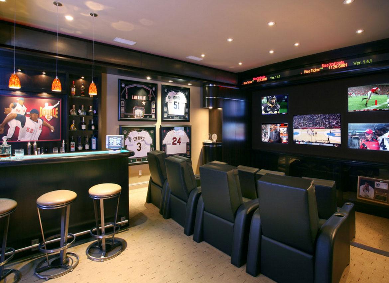 Wall Mounted Tv Ideas - Sebring Design Build