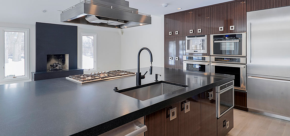 Classy Projects With Dark Kitchen Cabinets - Sebring Services