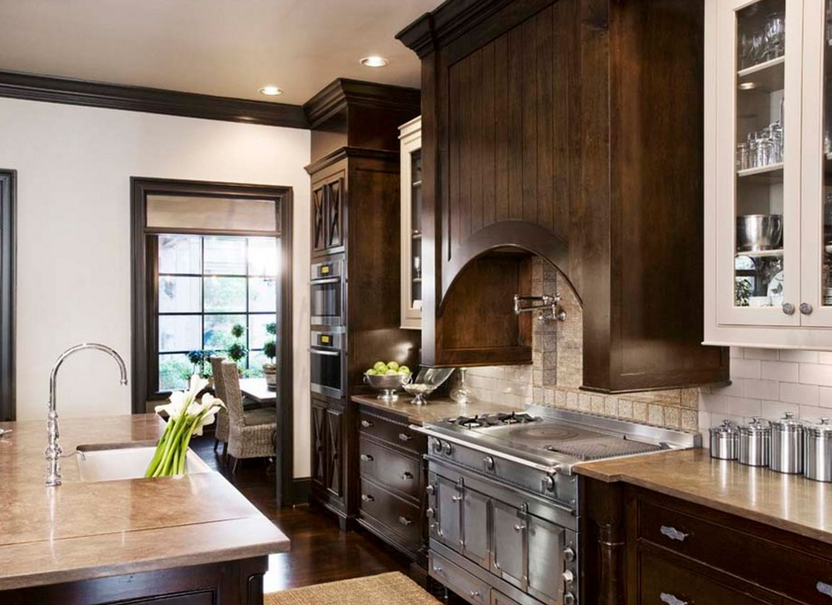 30 Classy Projects With Dark Kitchen Cabinets | Home ...