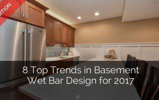Top Trends in Basement Wet Bar Design - Sebring Services