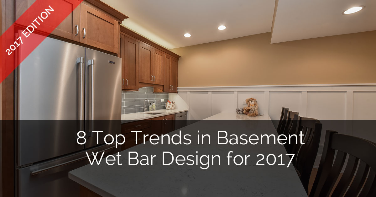 home wet bar designs. 8 Top Trends in Basement Wet Bar Design for 2017  Home Remodeling Contractors Sebring Build