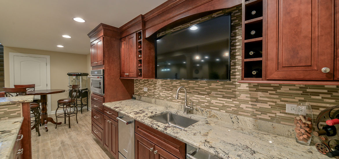 Amazing Top Trends In Basement Wet Bar Design   Sebring Services