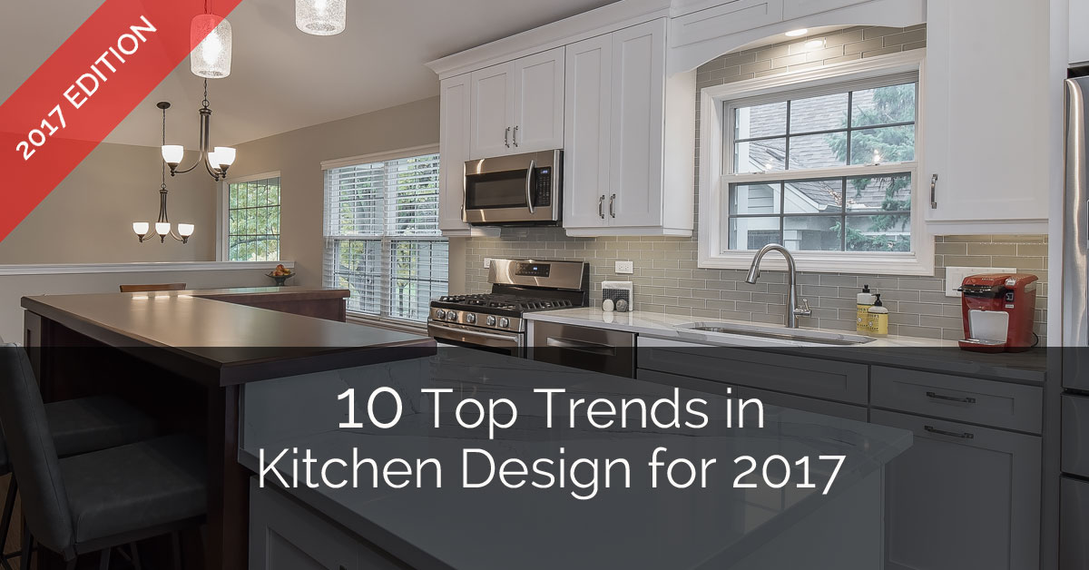10 top trends in kitchen design for 2017 home remodeling for Top 10 kitchen designs