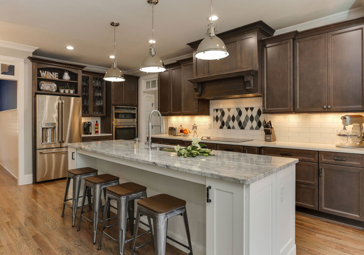 9 Top Trends in Kitchen Cabinetry Design for 2019 | Home Remodeling Kitchen Ideas With Blonde Cabinets on blonde maple kitchen cabinets, gray kitchen with oak cabinets, kitchens with blond wood floors, cherry wood kitchen countertops with white cabinets, kitchens black cabinets,