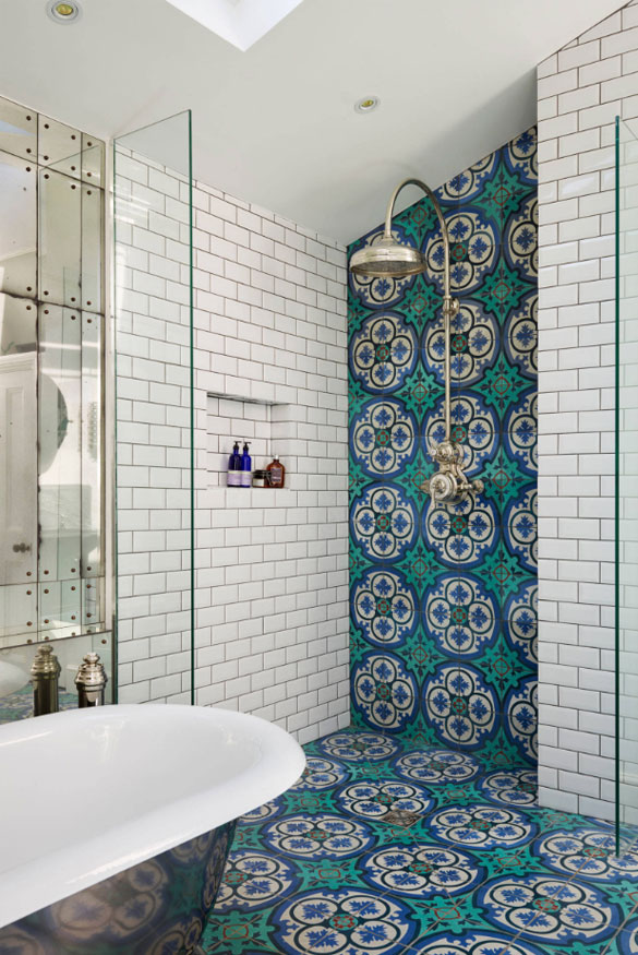 Bathroom Tiles Design >> 10 Top Trends In Bathroom Tile Design For 2020 Home