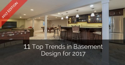 Top Trends in Basement Design - Sebring Services