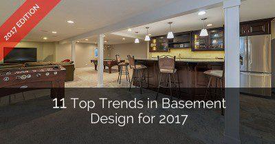 Top Trends in Basement Design - Sebring Services