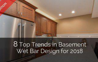 8 Top Trends In Basement Wet Bar Design For 2019 | Home Remodeling  Contractors | Sebring Design Build