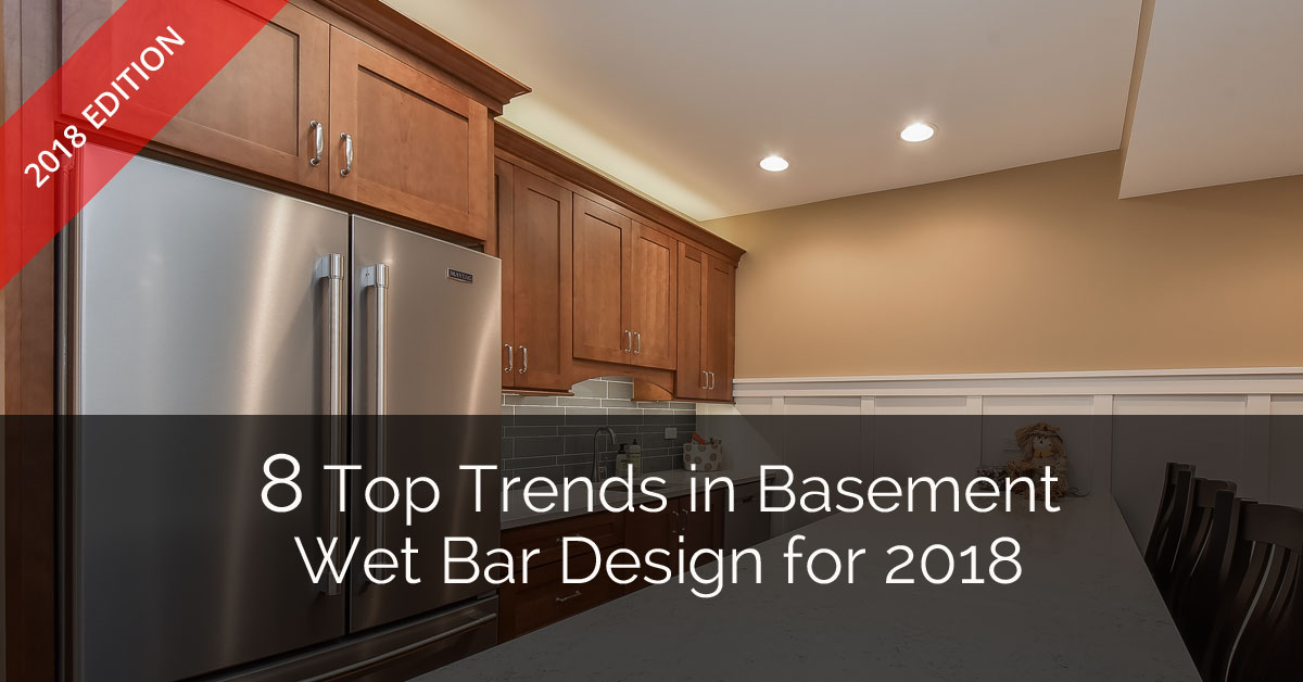 8 Top Trends In Basement Wet Bar Design For 2018