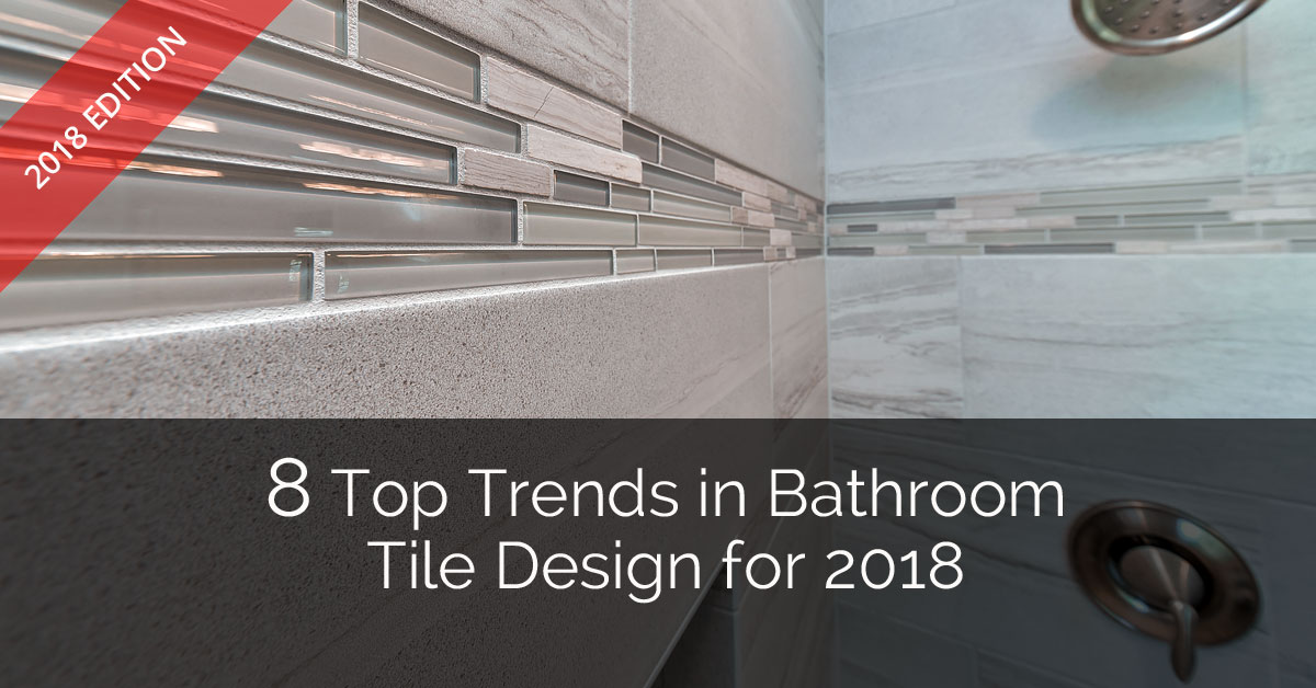 Top Trends In Bathroom Tile Design For Home Remodeling - 4 inch slate tile