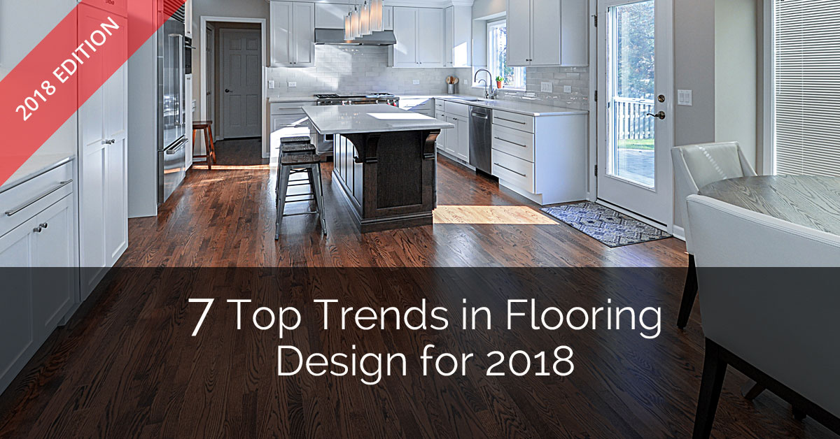 7 top trends in flooring design for 2018 home remodeling for Latest floor tile trends