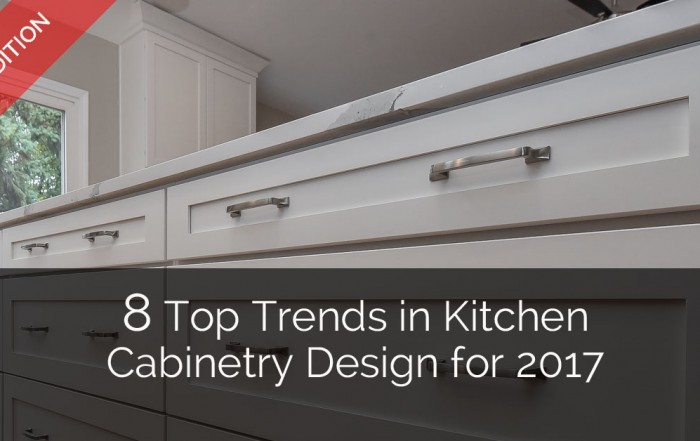 Top Trends in Kitchen Cabinetry Design - Sebring Services