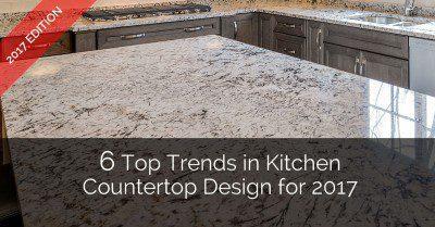 Top Trends in Kitchen Countertop Design - Sebring Services