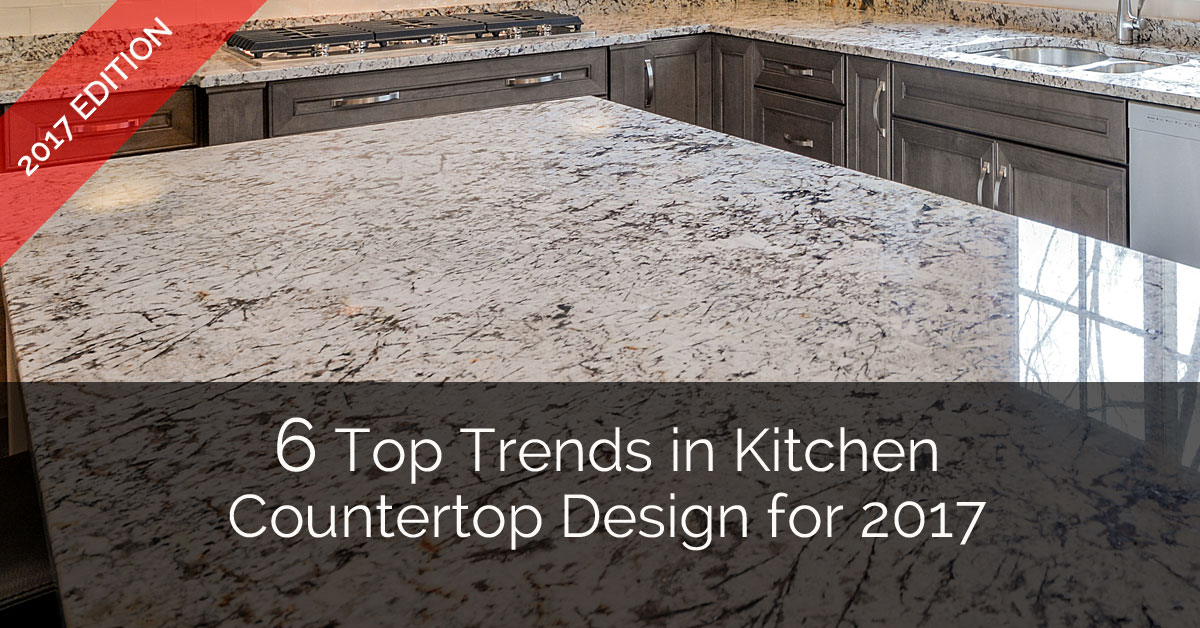 Countertop Options 2017 : Top Trends in Kitchen Countertop Design for 2017 Home Remodeling ...