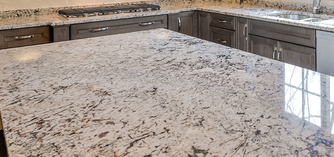 Granite Countertop Styles : Top trends in kitchen countertop design for home
