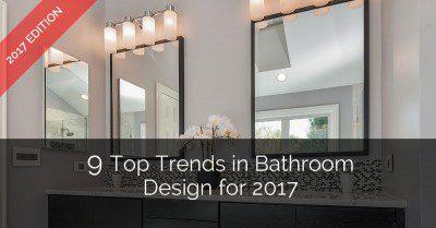 Top Trends in Bathroom Design - Sebring Services