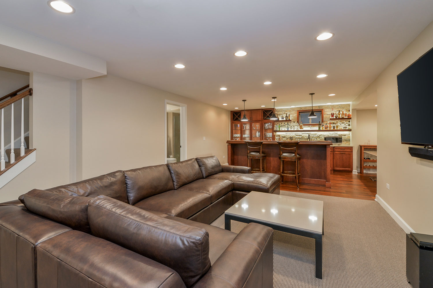basement finishing aurora co chuck amp jen s basement remodel pictures home remodeling 989