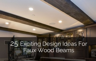 Faux Wood Beams - Sebring Services