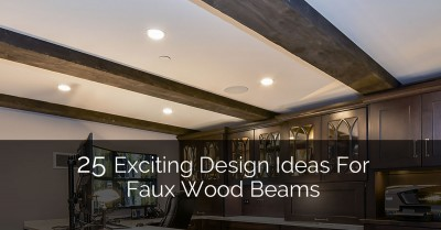Faux Wood Beams - Sebring Services