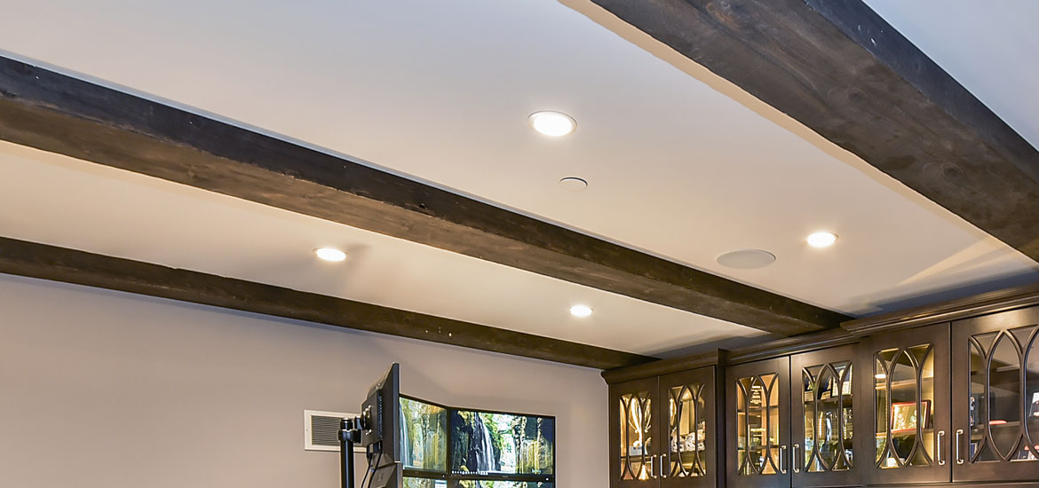 Wood Ceiling Beams | 25 Exciting Design Ideas For Faux Wood Beams Home Remodeling