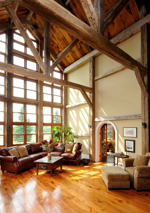 Room In Attic Truss Design: 25 Exciting Design Ideas For Faux Wood Beams