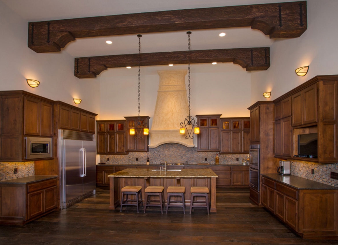 Gambrel Style 25 Exciting Design Ideas For Faux Wood Beams Home
