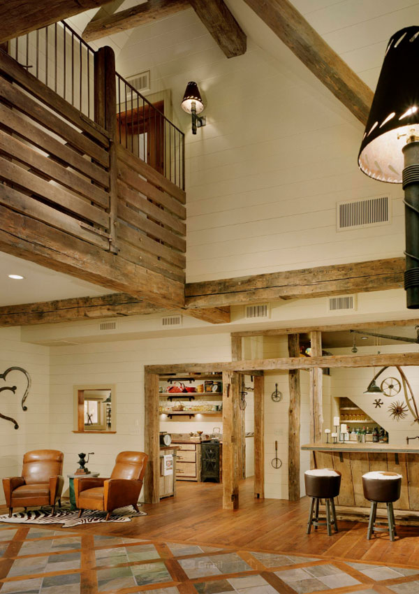 25 exciting design ideas for faux wood beams home for Adding wood beams to ceiling