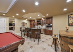 Naperville Basement Finishing Project - Sebring Services