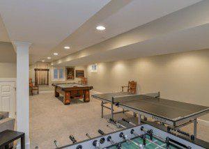 Naperville Basement remodeling - Sebring Design Build