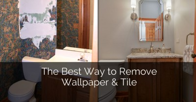 Tips for Removing Wallpaper & Tile - Sebring Services