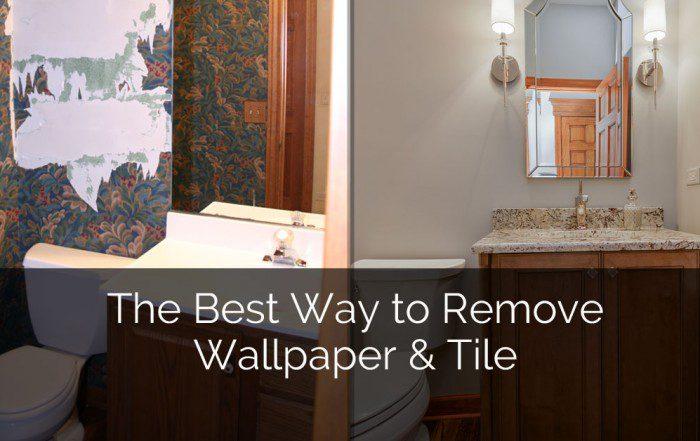 Tips for Removing Wallpaper & Tile - Sebring Services