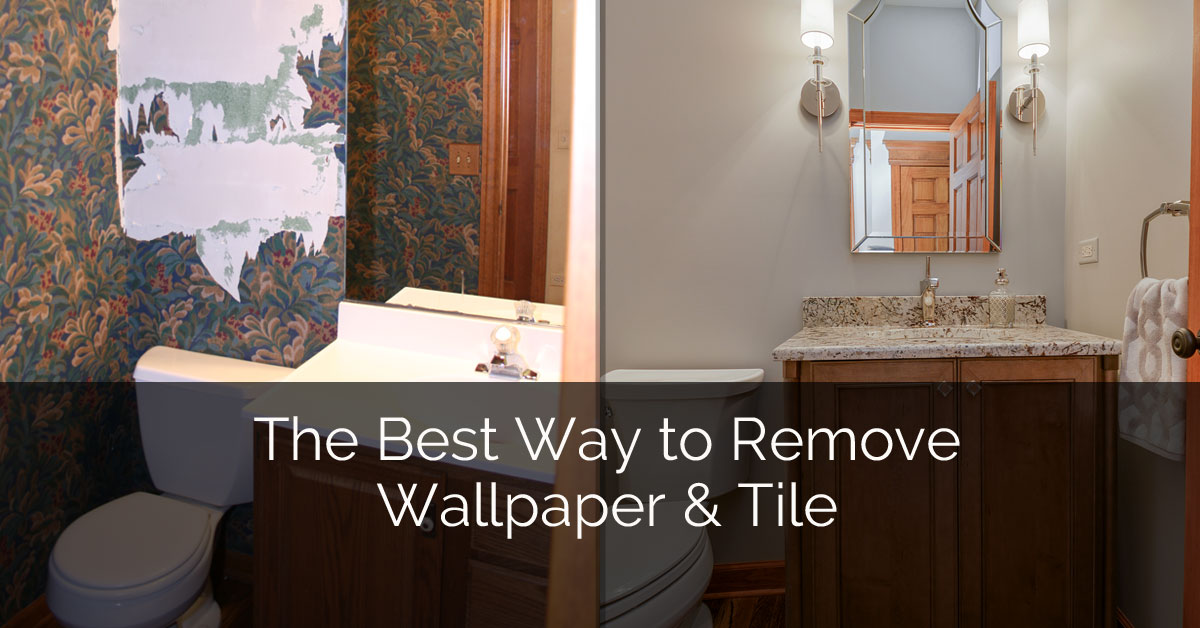 The Best Way To Remove Wallpaper Tile