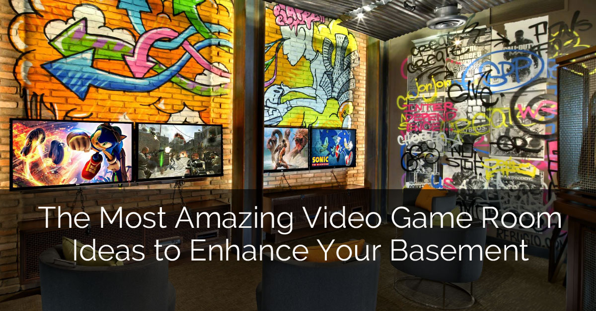 The Most Amazing Video Game Room Ideas To Enhance Your