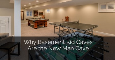 Why Basement Kid Caves are the New Man Cave - Sebring Services