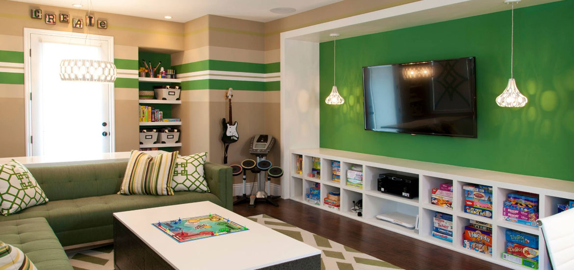 Amazing Game Room Ideas