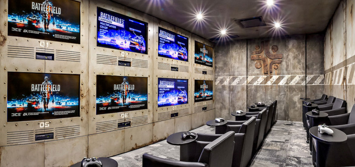 Video gaming room ideas the image kid for Video game room design ideas