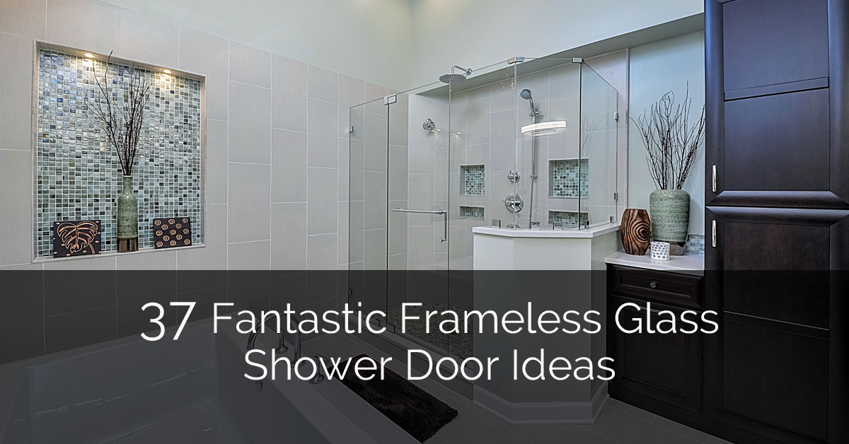 37 fantastic frameless glass shower door ideas home for Door design new model 2017