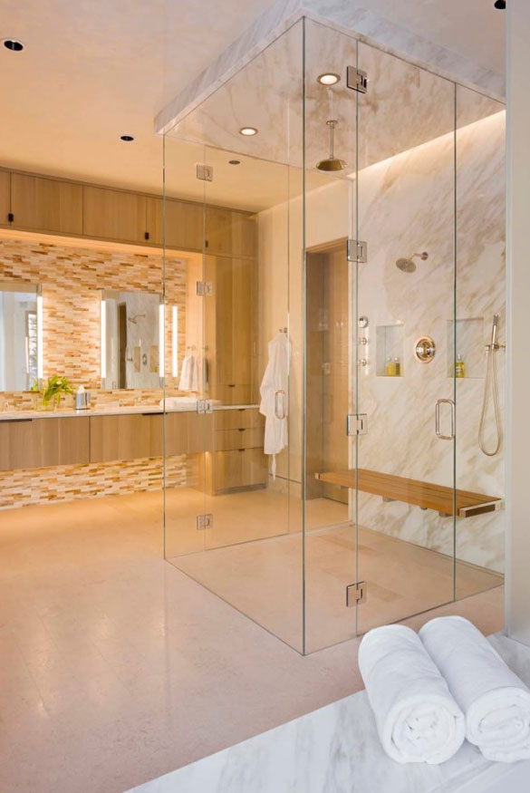 37 Fantastic Frameless Glass Shower Door Ideas | Home ...