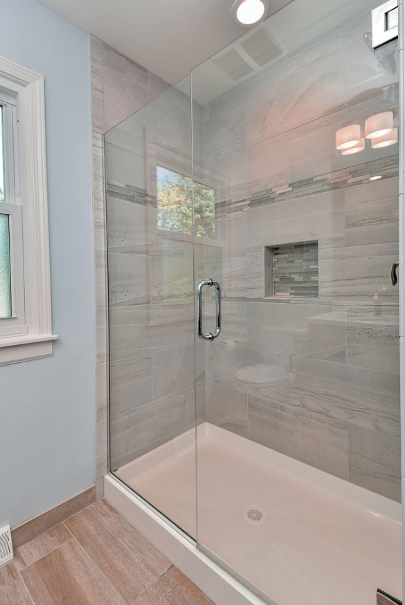 Fantastic Frameless Glass Shower Door Ideas Home Remodeling - Seamless bathroom shower doors
