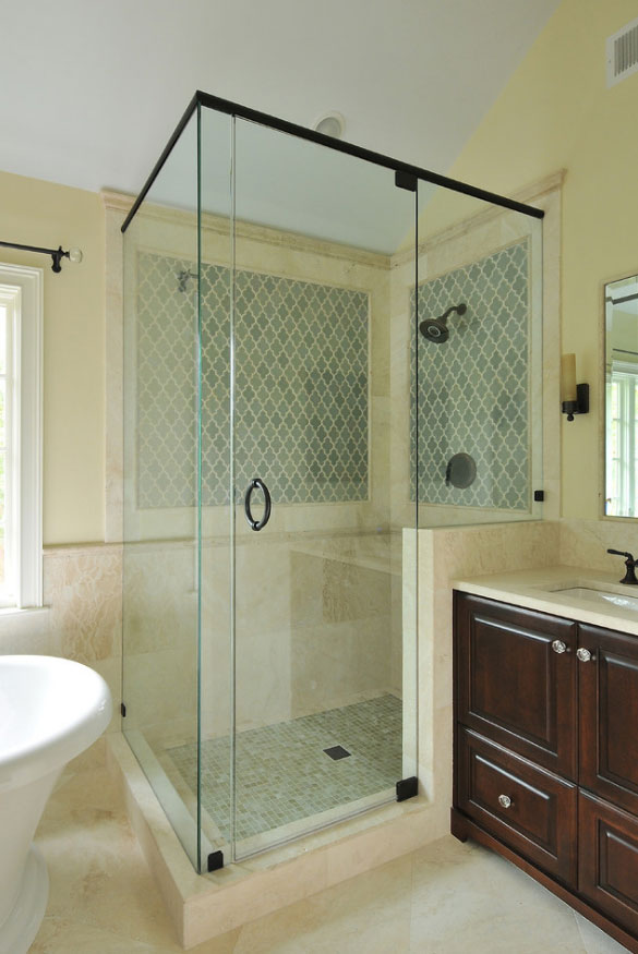 37 fantastic frameless glass shower door ideas home for Cool shower door ideas