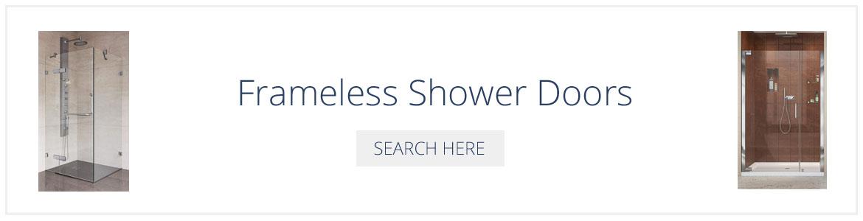 Frameless Shower Doors - Sebring Design Build