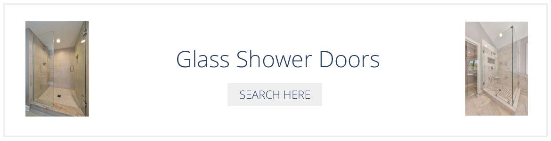 Glass Shower Doors - Sebring Design Build