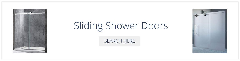 Sliding Shower Doors - Sebring Design Build