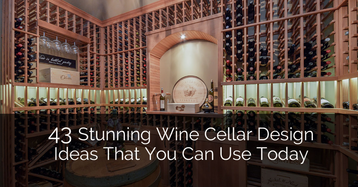 43 stunning wine cellar design ideas that you can use today home remodeling contractors sebring design build - Wine Cellar Design Ideas