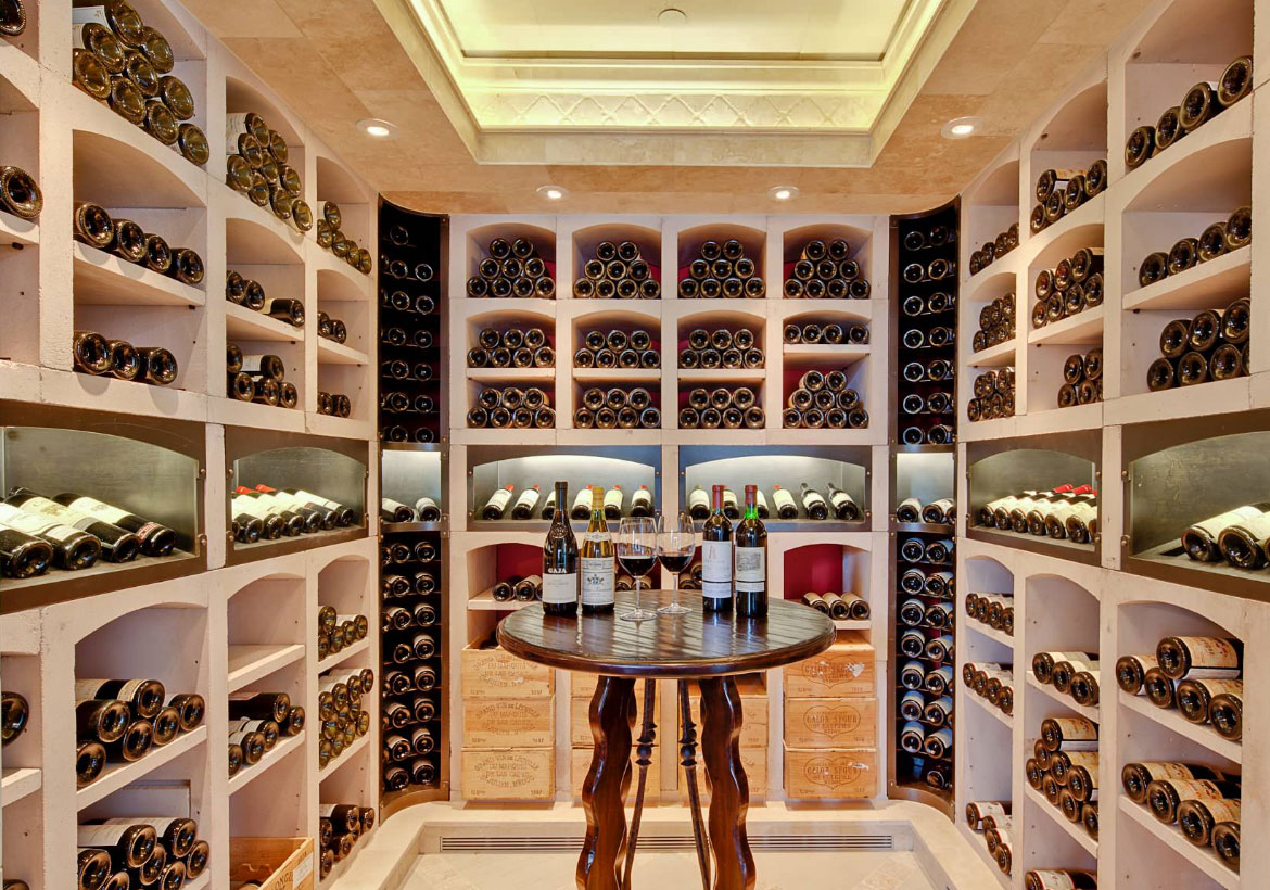 Pleasing 70 home wine cellar closet design decoration of for Wine room ideas