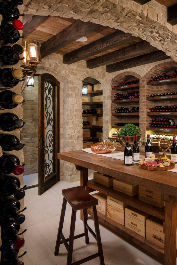 Exceptional Wine Cellar Ideas   Sebring Services