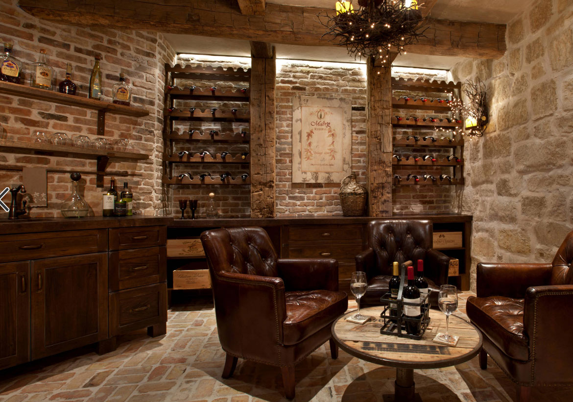 Rec Room With Wine Cellar 69581am: 43 Stunning Wine Cellar Design Ideas That You Can Use