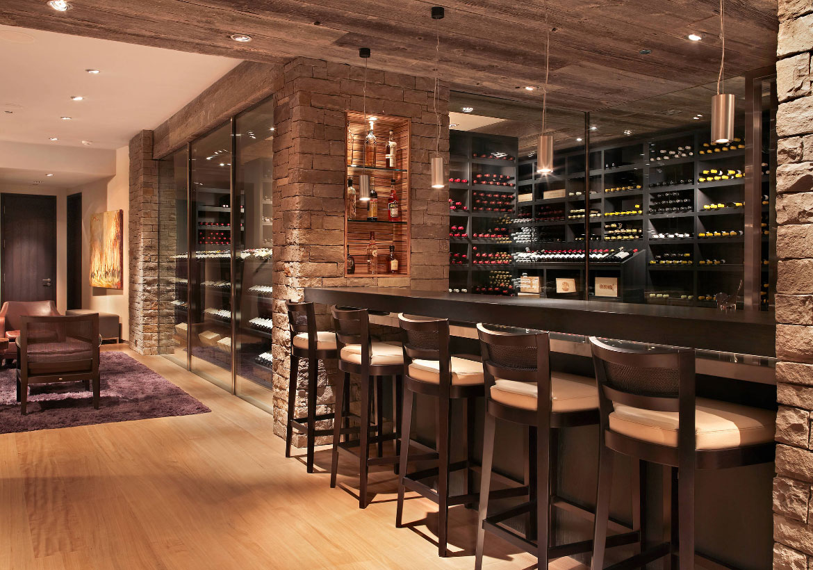 Attractive Wine Room Design Ideas Part - 4: Wine Cellar Ideas - Sebring Services
