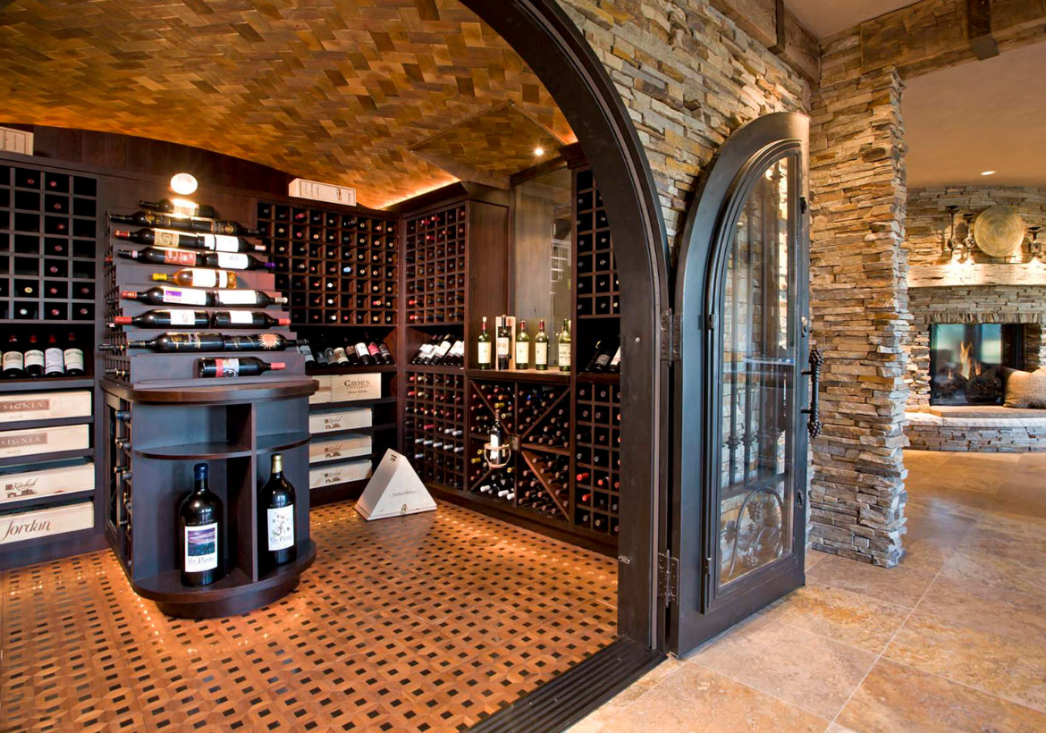 IRON ENTRY. Wine Cellar Ideas ...